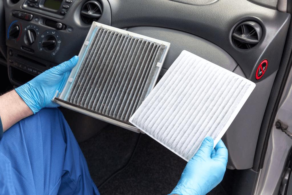 filter ac yang kotor menyebabkan ac mobil menjadi tidak dingin