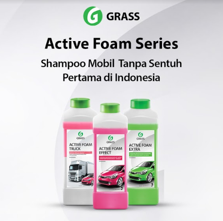 shampoo touchless Grass Indonesia