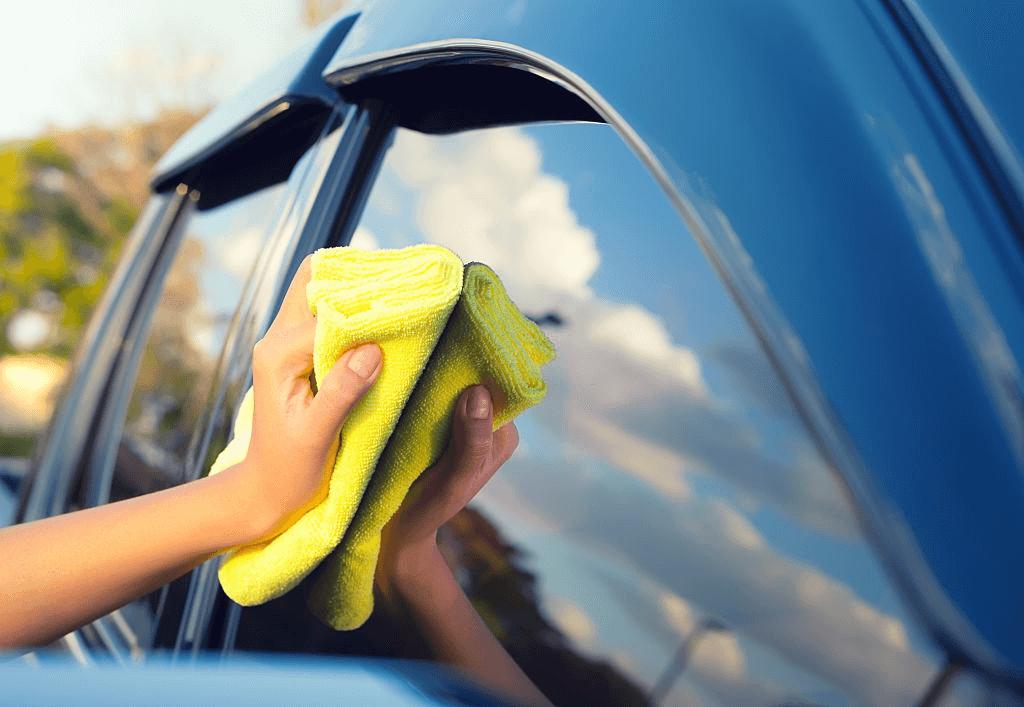 microfiber tidak merusak permukaan mobil