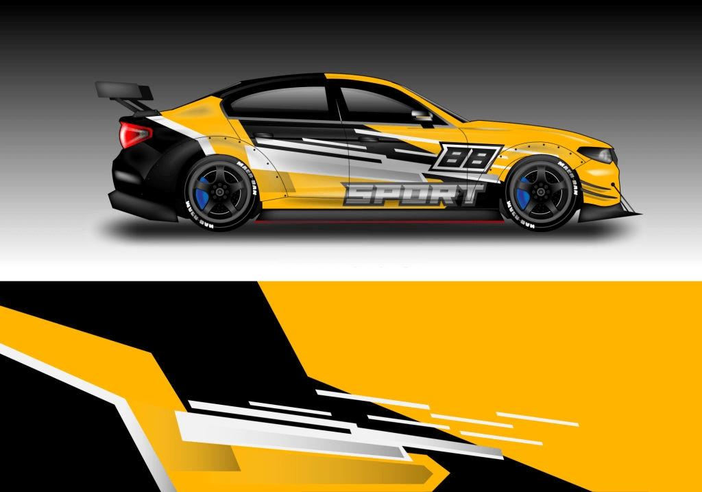 contoh desain modifikasi pada mobil sedan