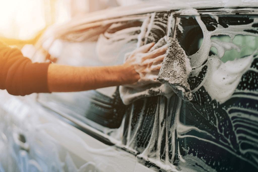 cuci mobil metode manual