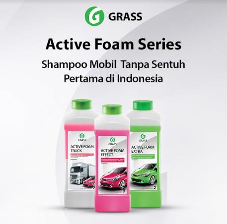 shampoo touchless dari Grass Indonesia