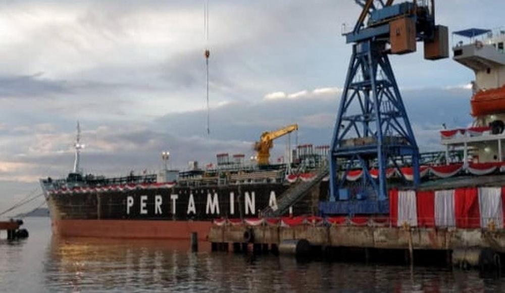 kapal tanker milik pertamina